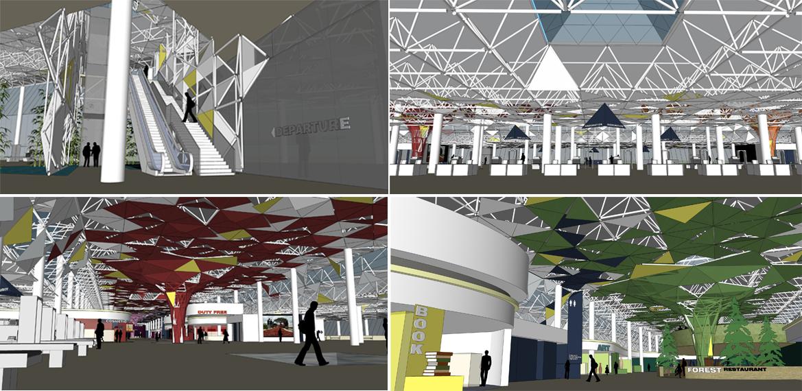 第八周 bole机场室内设计